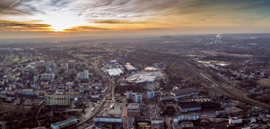 Dąbrowa Górnicza filmowanie z drona